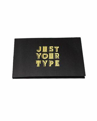 Uzlīmju grāmata Just Your Type