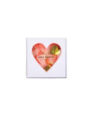 Confetti komplekts Heart