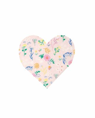 Salvetes Patterned Heart, 20 gab.