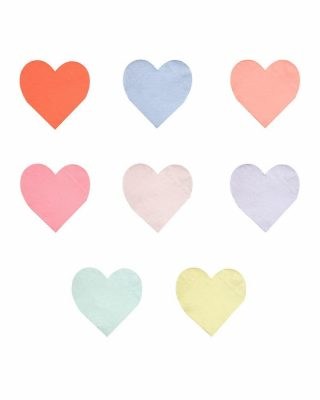 Salvetes Palette Heart, 20 gab.