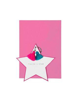 Kartīte You Are a Star, rozā