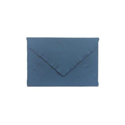 Rokas lējuma papīra aploksne, tumši zila