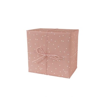 Dāvanu ietinamais papīrs Stars, rozā, loksne